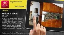A vendre - maison - RUELLE SUR TOUVRE (16600) - 4 pièces - 85m²