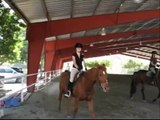 MY FIRST JUMPING LESSON!!