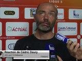 (J32) Laval 1-0 Châteauroux, réaction de C. Daury