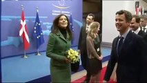 Frederik & Mary  visit to Brussels for opening of Danish EU Presidency (2012)