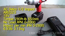 AC Delco ARI2023 1/2 Inch Impact Tool Review -EricTheCarGuy