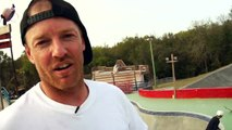 How To Frontside Blunt on Transition, Mike Peterson, Alli Sports Skateboard Step By Step Trick Tips