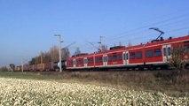 Züge Brühl Walberberg, Crossrail 185, 4x 140, ERS 189, DB 185, 2x 101, 3x 146, 4x 460, 8x 425