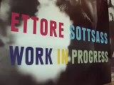 Ettore Sottsass - Work in Progress / Design Museum London