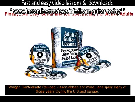 first four chords to learn on guitar   Adult Guitar Lessons Fast and easy video lessons