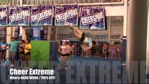 Cheer Extreme Tryouts 2012 Cheerleading & Gymnastics COMBINED! CHEER IS A SPORT! (Video by JTV)