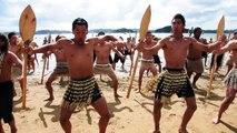 Maori haka - Waitangi Day 2010 - Paihia, New Zealand