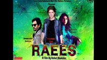 Raees Official Trailer Sharukh-Khan--Mahira-Khan
