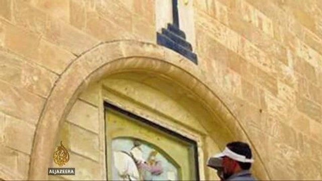 Iraqi Christians race to save artefacts