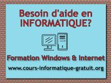 Introduction au cours d'informatique - Formation et Cours Windows XP Français - 1