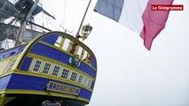 """Hermione. """"Grâce au bateau, on en apprend"""", selon le commandant"""