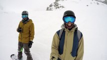 Slashes, Steep Chutes and Crashes | Snowboarding Powder
