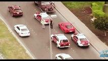 FAST AND FURIOUS 7 - Fast and Furious car chase filming in Abu Dhadi (UAE)