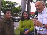 Repórter da Globo dá tapa na cara de entrevistado ao vivo