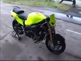 Gohst Rider. motorbike 499bhp. 336 kmh on one wheel. this guy is nuts!!