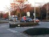 3 wagens aanrijdend Brandweer Bergen op Zoom