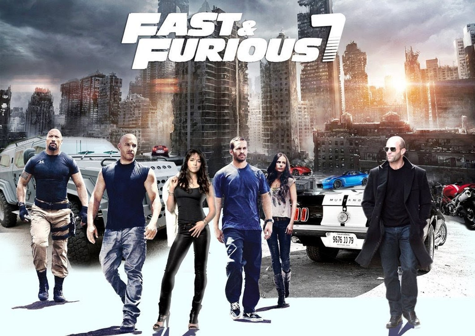 Fast And Furious 7 English 2015 Vídeo Dailymotion