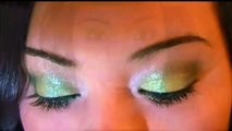 Girls Night Out ~ Sparkly Green Eyes Make Up Tutorial