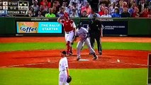 SHANE VICTORINO FALLS INTO STANDS AND CAUSES RED SOX FANS TO GO CRAZY