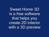 Download Sweet Home 3D free interior design software