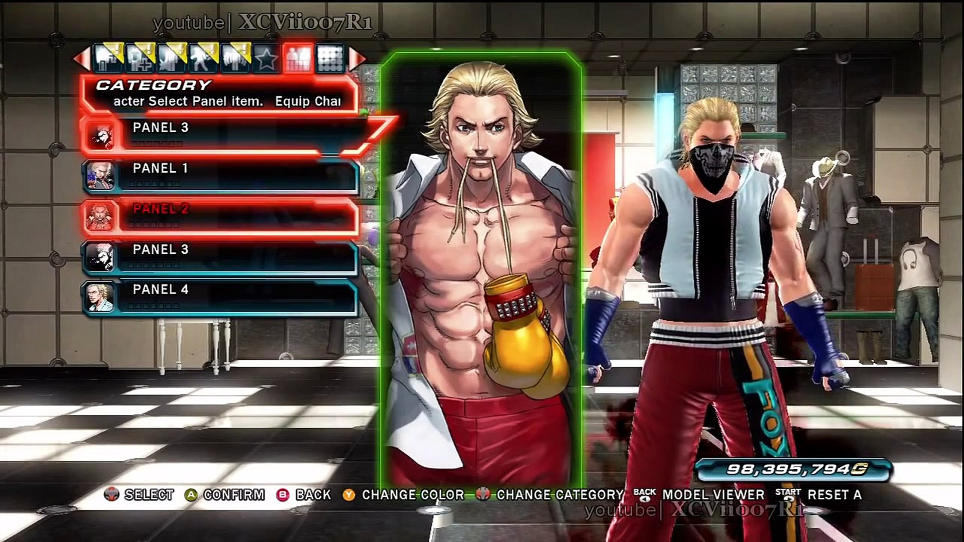 Tekken Tag Tournament 2 All Character Panels Video Dailymotion