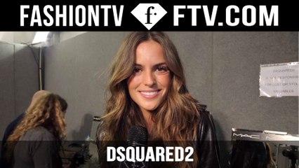 Dsquared2 Fall/Winter 2015 Backstage ft. Izabel Goulart   Milan Fashion Week   FashionTV
