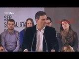 PSOE: Sánchez asegura que la recuperación solo será posible si se devuelven los derechos robados