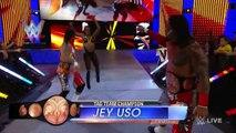 Jey Uso (w/ Jimmy Uso and Naomi) vs. Tyson Kidd (w/ Cesaro and Naomi)