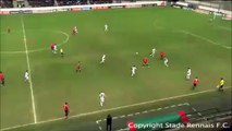 04/03/09 : Romain Danzé (30') : Rennes - Lorient (3-0)