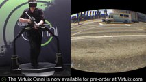 Grand Theft Auto V joué sur Virtuix Omni