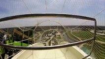 Descente du toboggan le plus haut du monde au Kansas