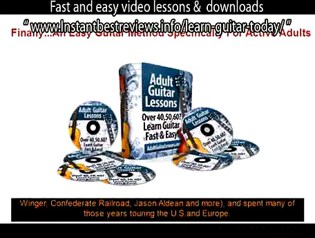 how to learn guitar chords free online   Adult Guitar Lessons Fast and easy video lessons