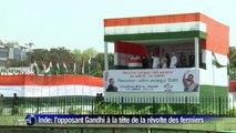 Inde: Rahul Gandhi mène une manifestation de fermiers anti-Modi