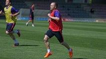 Training session (19/04/15): Champions' session