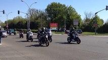 24 H du Mans moto 2015: départ des spectateurs
