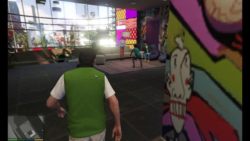 Let's play GTA V (pc) #4 Notre ami Lester