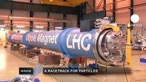 euronews science - Les aimants supraconducteurs, coeur du LHC