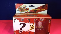 Kidrobot Street Fighter Mini Figure 2 Pack!  Vega with Blind Box Mystery Figure!