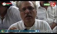 Dr. Arif Alvi views on PTI Election Campaign NA246 (April 18)