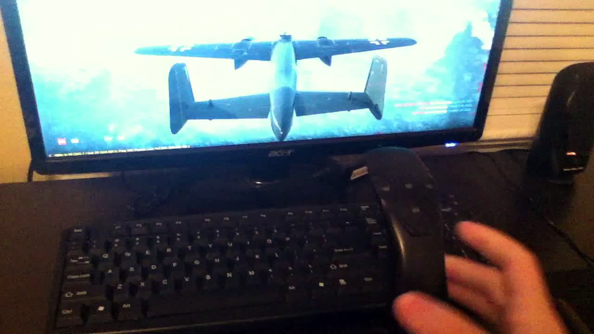 war thunder logitech attack 3