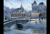 """Волшебная музыка зимы. """"Падал снег"""" Красивая музыка! Music Sergey Chekalin. Very beautiful music!"""