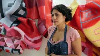 Marela Zacarias Goes Big Goes Home ART21 New York Close Up