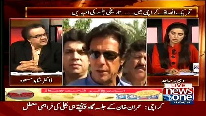 Thoray Dino Pehlay Tak MQM Ka PTI Se Etehad Hone Jaraha tha: Dr Shahid Masood
