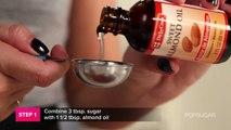 DIY Sweet Lip Scrub For Kissable Lips | DIY Beauty | Beauty How To