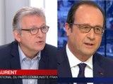 Hollande compare Le Pen au PCF : Pierre Laurent voit rouge