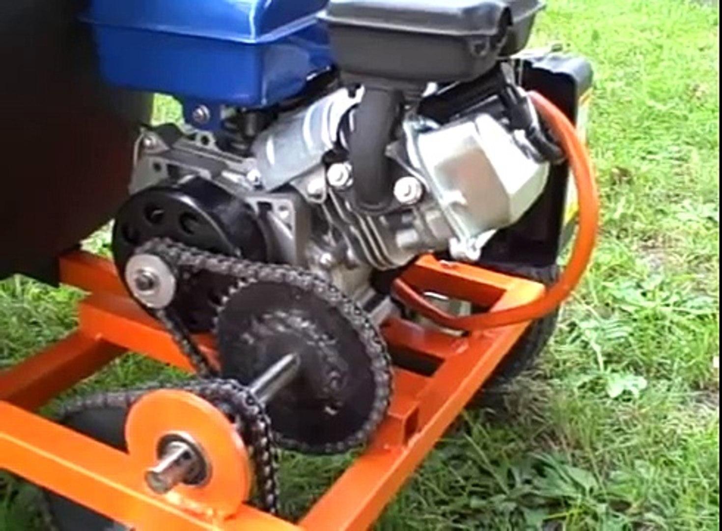Homemade gokart (gocart) with Harbor Freight 2 5 hp engine 79cc