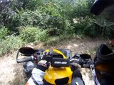 atv quad offroad can am renegade 1000 grizlly 660  gopro hd
