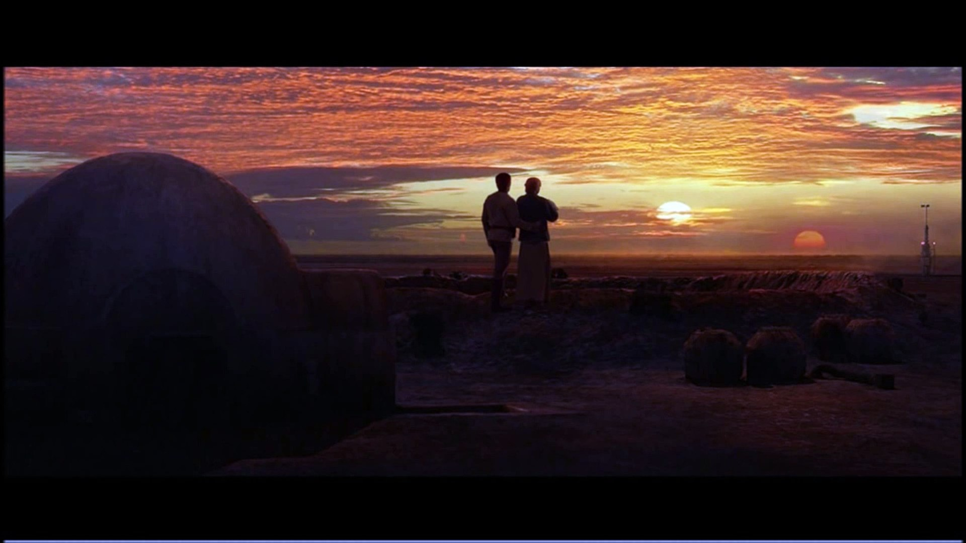 Star Wars Binary Sunset Composed By John Williams Video