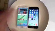 Samsung Galaxy S6 ve iPhone6 kaynama deneyi