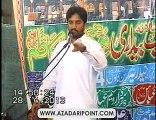 Zakir Waseem Abbas Baloch Rehai Majlis 28 April 2013 Town Ship